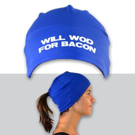 Performance Ponytail Cuff Hat Will WOD For Bacon