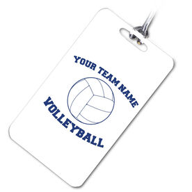 VolleyBall Bag/Luggage Tag Volleyball Team Name