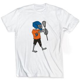 Guys Lacrosse Short Sleeve T-Shirt - Zombie