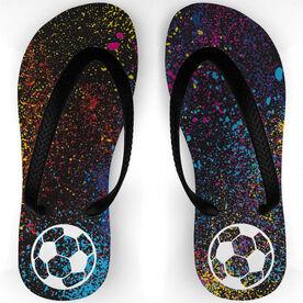 Soccer Flip Flops Celebration Dust