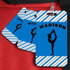 Cheer Bag/Luggage Tag Personalized Cheerleader girl