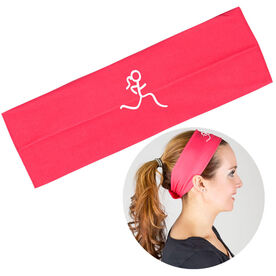 RunTechnology Tempo Performance Headband - Run Girl