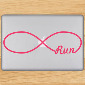 Run Forever Removable GoneForaRunGraphix Laptop Decal