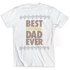 Vintage Football T-Shirt - Best Dad Ever