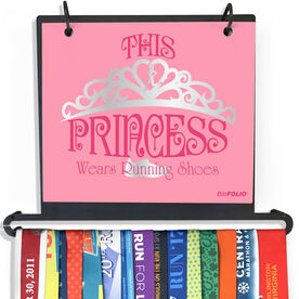 BibFOLIO Plus Race Bib and Medal Display This Princess Wears Running Shoes