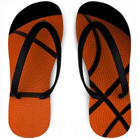 Basketball Flip Flops Full Coverage