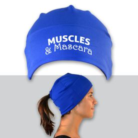 Performance Ponytail Cuff Hat Muscles and Mascara