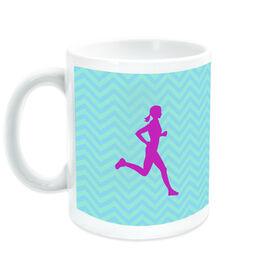 Running Ceramic Mug Forget the Glass Slippers