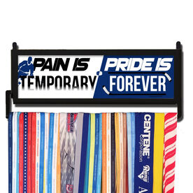 AthletesWALL Pain Is Temporary Pride Is Forever Hockey Medal Display
