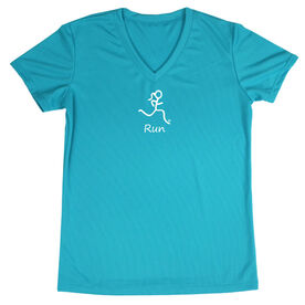 Women's Running Short Sleeve Tech Tee Run Girl