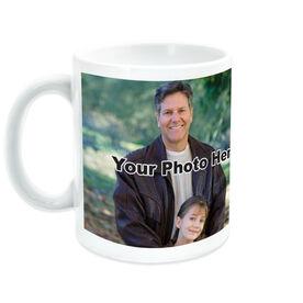 Softball Ceramic Mug Me & My Dad Custom Photo