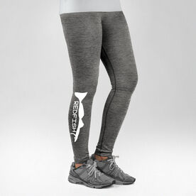 Fly Fishing Performance Tights Redfish Silhouette