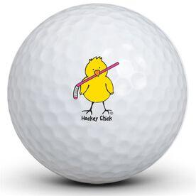 Hockey Chick Golf Balls