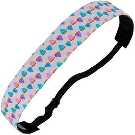 Athletic Julibands No-Slip Headbands - Cupcake Pattern