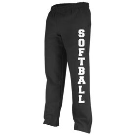 Softball Fleece Sweatpants Varsity Softball