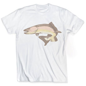 Vintage Fly Fishing T-Shirt - Brown Trout