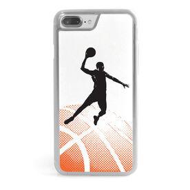 Basketball iPhone® Case - Halftone Sunrise