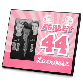 Lacrosse Personalized Photo Frame Lacrosse Rays