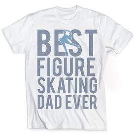 Vintage Figure Skating T-Shirt - Best Dad Ever