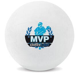 Personalized MVP Lacrosse Ball (White Ball)