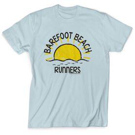 Running Short Sleeve T-Shirt - Run Club Barefoot Beach Runners