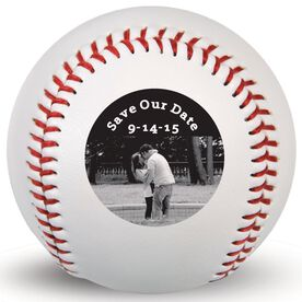 Wedding Photo Custom Baseball