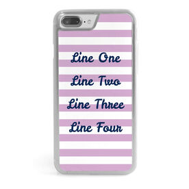 iPhone® Case - Customize Me Quote Script