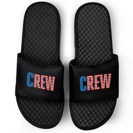 Crew Black Slide Sandals - USA