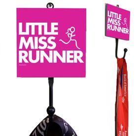 Little Miss Runner Medal Hook