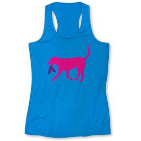 Women's Performance Singlet Roxi The Running Dog