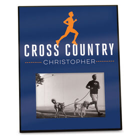 Cross Country Photo Frame Personalized Male Runner