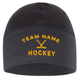 Beanie Performance Hat - Hockey Team Name