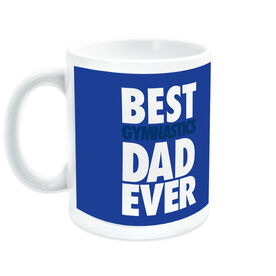 Gymnastics Ceramic Mug Best Dad Ever