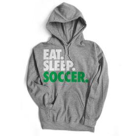 Soccer Standard Sweatshirt Eat. Sleep. Soccer.