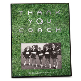 Field Hockey Photo Frame Thank You Coach
