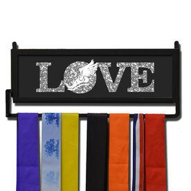 RunnersWALL Track & Field Winged Foot Love Medal Display