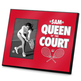 Tennis Photo Frame Queen of the Court