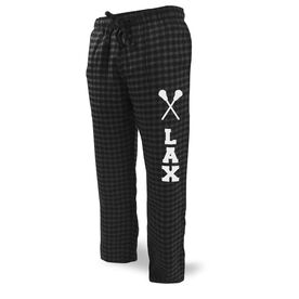 Lacrosse Lounge Pants Lax With Sticks