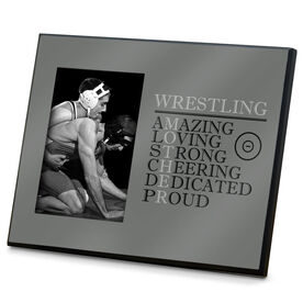 Wrestling Photo Frame - Mother Words