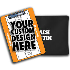 ChalkTalk Custom Photo Coaches Dry Erase Clipboard