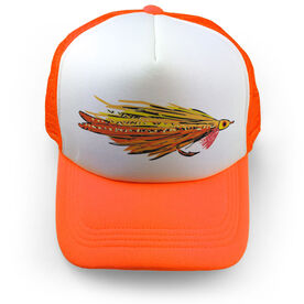 Fly Fishing Trucker Hat Deceiver