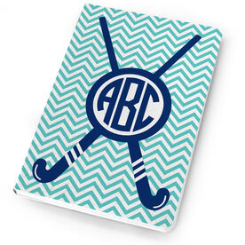 Field Hockey Notebook Monogram