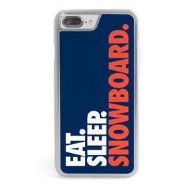 Snowboarding iPhone® Case - Eat. Sleep. Snowboard.