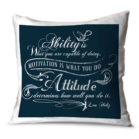 Running Throw Pillow Vintage Ability Is What You Are Capable Of Doing