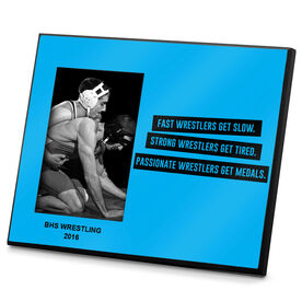 Wrestling Photo Frame Fast Strong Passionate