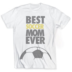 Vintage Soccer T-Shirt - Best Mom Ever