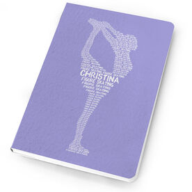 Figure Skating Notebook Personalized Words