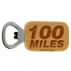 100 Miles Maple Bottle Opener