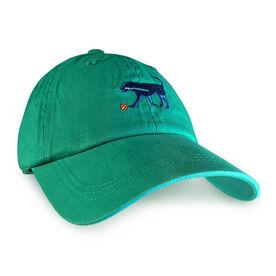 Softball Dog Hat - Seafoam Green