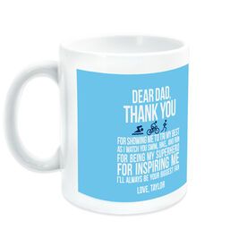 Triathlon Ceramic Mug Dear Dad